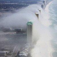 Tsunami de nuages en Floride