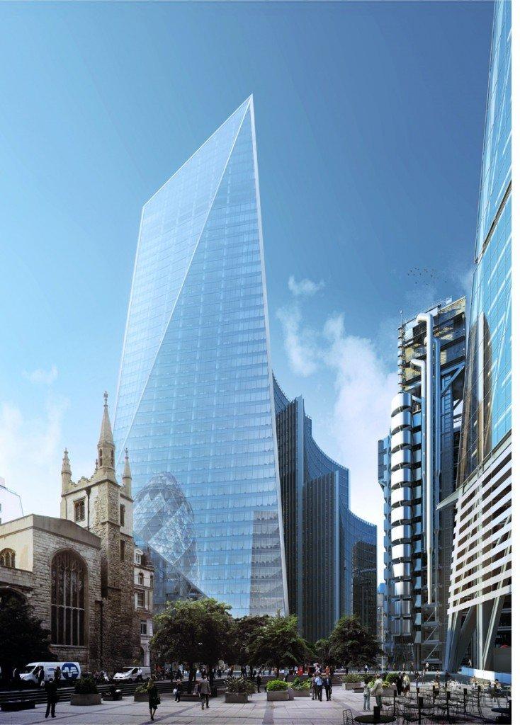 Le scalpel le nouveau projet de gratte ciel londonien for Nouveau batiment londres