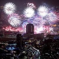 Les gratte-ciel à l'honneur à nouvel an !